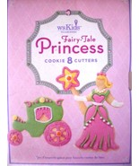 Williams Sonoma Kids Fairy-tale Princess Cookie Cutters Set of 8 - $21.51