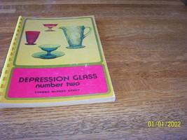 Vintage Spiral Bound Depression Glass Number Two Book by Sandra McPhee S... - $6.93
