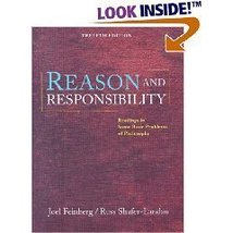 Reason and Responsibility: Readings in Some Basic Problems of Philosophy... - $22.76