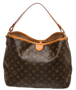Louis Vuitton Brown Monogram Delightful MM Hobo... - $1,095.00