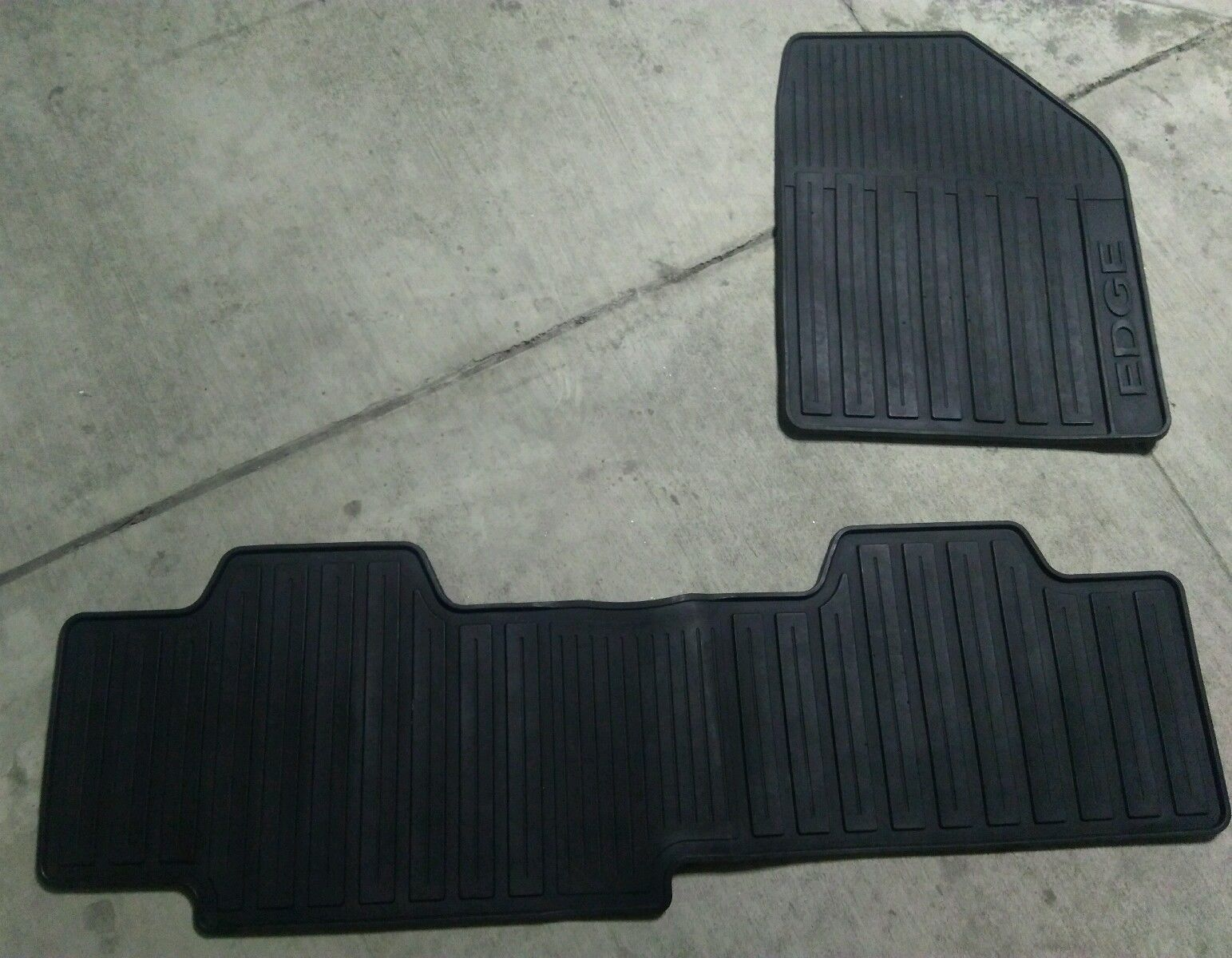 S L S L   Ford Edge Oem Genuine Rubber All Weather Floor Mat