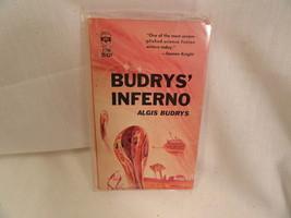 Budrys Inferno Paperback Book Berkley F799 Algi... - $2.84