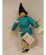 "1987 Scarecrow Wizard of Oz Doll  15"" NWT Hamilton Gifts - $12.49"