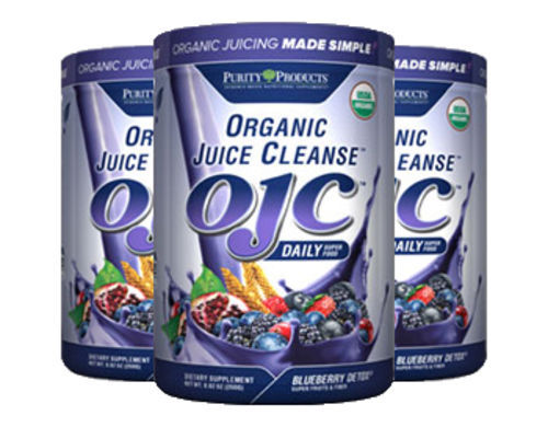 Purity Products - Certified Organic Juice Cleanse (OJC) - Blueberry Detox