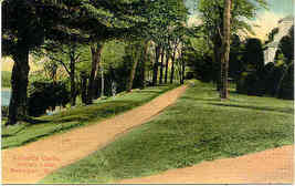 Indian Lake Michigan Gilbert's Castle Vintage Post Card - $3.00
