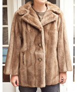 Vintage Tissavel Faux Fur Womens Coat Made In England - $56.05