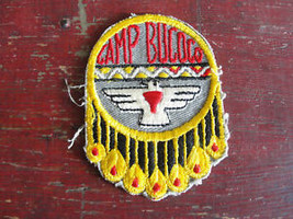 Camp Bucoco Boy Scouts Of America,Vtg Old Scout  Patch - $14.25