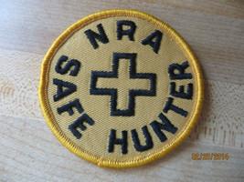 NRA National Rifle Association safe hunter vtg old,award shooting member... - $9.50
