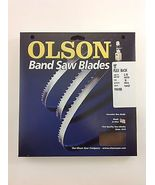 "Olson Band Saw Blade 111"" x 3/16"",10TPI for Rikon 10-325, Grizzly G1538, others  - $19.98"