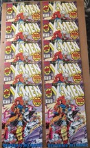 Uncanny X-Men #281 Marvel Comic Book Lot Of 10 FN/VF Condition 1991 NEW ... - $11.69