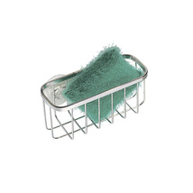 InterDesign Gia Kitchen Sink Suction Holder for Sponges, Scrubbers, Soap - Stain - $9.99