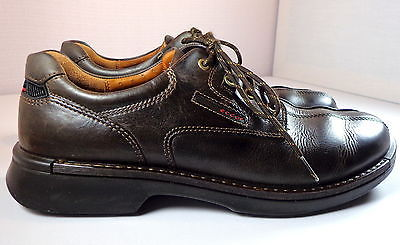 ECCO Bicycle Toe Tie Brown Nubuck Leather Oxfords Men's Size  48 / 13 / 13.5