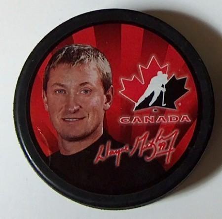 Team Canada Pucks 2002 Salt Lake