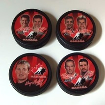 Team Canada Pucks 2002 Salt Lake - $19.99