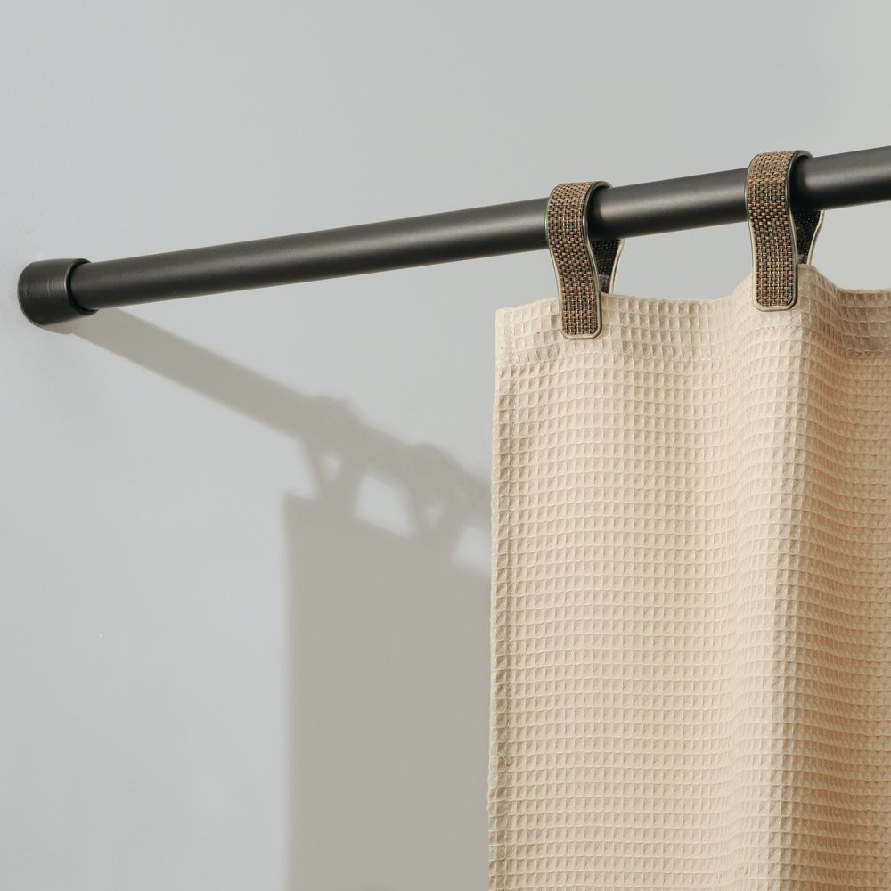 InterDesign Cameo Bronze Shower Curtain Tension Rod - Large (50-87 Inch)