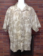 WOOLRICH  Hawaiian Jeep Floral Print Short Sleeve Button Front Mens Shir... - $18.69