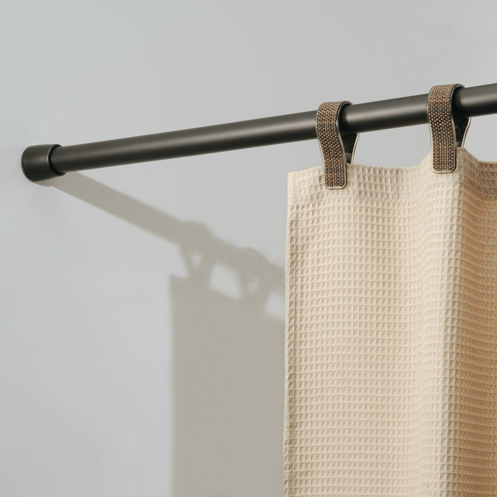 InterDesign Cameo Bronze Shower Curtain Tension Rod - Medium (43-75 Inch)