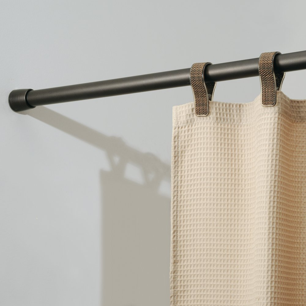 InterDesign Cameo Bronze Shower Curtain Tension Rod - Small (26-42 Inches)