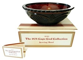AVON 1876 Cape Cod Collection Ruby Red Sandwich... - $12.95