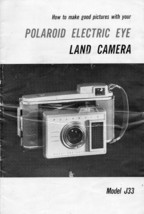 How to Make Good Pictures with Your Polaroid Electric Eye Land Camera Guide - $7.12