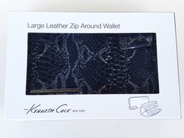 NEW!!!!! Kenneth Cole New York Leather Large Zi... - $26.92
