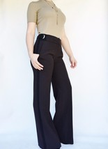 ETCETERA Brown Large Leg  Dress Pants Sz 2,4 - $45.00