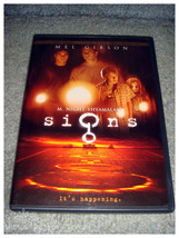 Gently Used DVD - Signs - $4.00