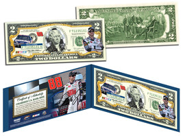 DALE EARNHARDT JR Nascar NATIONAL GUARD Legal Tender U.S. $2 Bill *LICEN... - $13.95