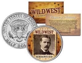 SUNDANCE KID * Wild West Series * JFK Kennedy Half Dollar U.S. Coin - $8.95