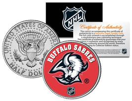 BUFFALO SABRES NHL Hockey JFK Kennedy Half Dollar U.S. Coin * LICENSED * - $8.95