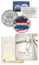 MONEY-POWER-RESPECT Floyd Mayweather JFK Half Dollar U.S. Coin *USA* - $8.95
