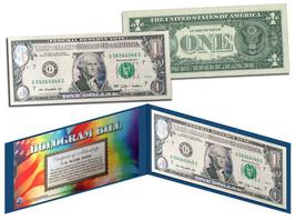 AQUA SILVER LASER CUT HOLOGRAM Legal Tender US $1 Bill Currency Limited ... - $9.95