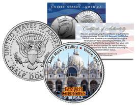 SAINT MARK'S BASILICA * Famous Churches * JFK Half Dollar U.S. Coin Veni... - $8.95