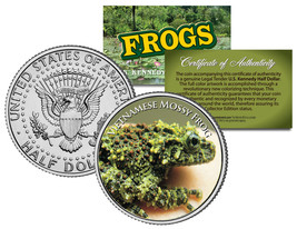 VIETNAMESE MOSSY FROG *Collectible Frogs* JFK Half Dollar US Colorized C... - $8.95