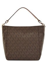 MICHAEL Michael Kors Fulton Medium Slouchy Shoulder Bag (Brown) - $273.24