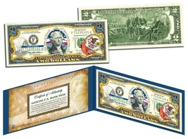 ILLINOIS $2 Statehood IL State Two-Dollar US Bill *Genuine Legal Tender*... - $13.95