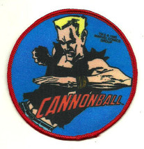 Vintage 1985 Marvel Super Heroes Cannonball unused sew-on cloth patch co... - $4.89