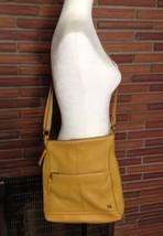 The Sak Leather Crossbody Bag Yellow Retail $99 - $34.64