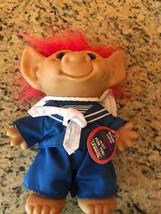 "SAILOR - 8"" Wishnik Uneeda Troll Doll -  Vintage Very Rare with tag - $14.85"