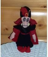 "Disney Aladdin Villain in Black Cape Jafar Plush Beans 9"" Wants to Travel - $6.29"