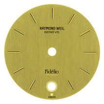 Raymond Weil Geneve Fidelio 19 mm Gold Unisex Watch Dial - $49.99