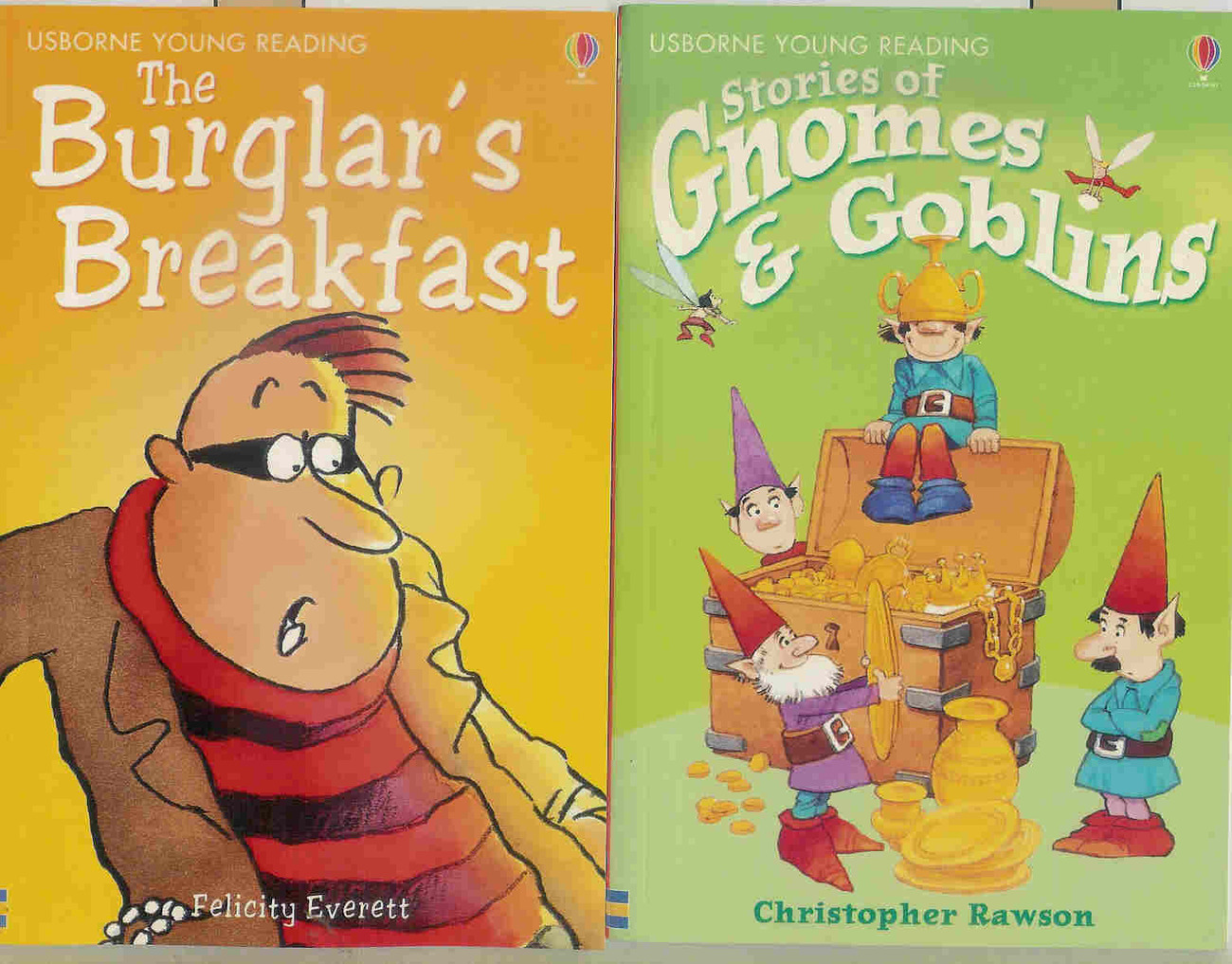 Young Reading 6 Books - Gnomes & Goblins,Wizards,Wizards, Incredible Present, Et