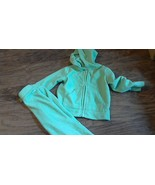 Children's Place girl's green hooded sweater and pant size 24 mos  - $4.00