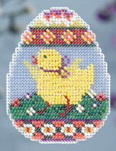 CLEARANCE Chick Egg Spring Bouquet Collection 2014 charmed ornament Mill Hill - $5.25