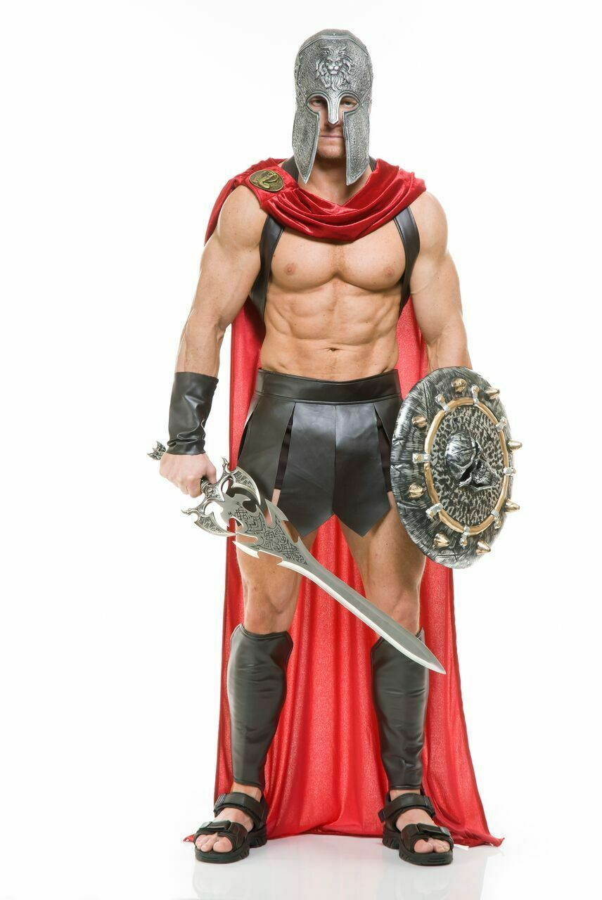 Primary image for Charades Spartan Warrior 300 Römische Gladiator Erwachsene Halloween Mode 02042