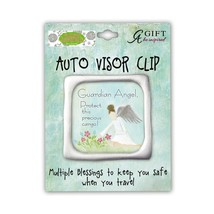 Cathedral Art KVC416 Guardian Angel Auto Visor Clip, 2-Inch - $11.52