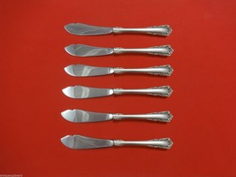 """Carillon by Lunt Sterling Silver Trout Knife Set 6pc. HHWS  Custom Made 7 1/2"""" - $366.80"""