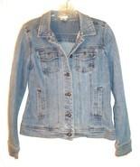 Sz S - Christopher & Banks Blue Jean Denim Jacket w/4 Front Pockets - $33.24