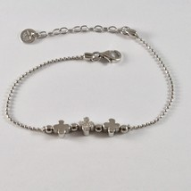 Silver Bracelet 925 Jack&co to Balls with Four-Leaf Clover with Zircons JCB0782 image 2