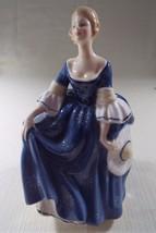 Royal Doulton Hilary HN 2335 Retired Beautiful Vintage Lady Figurine - $149.95